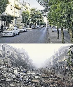 15 Shocking Photos Of Syria Before & After War